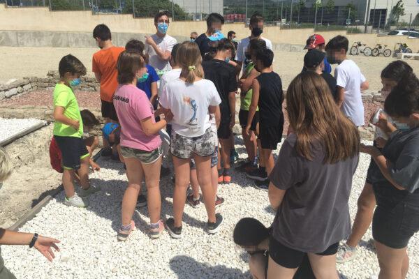 L'alumnat del CEIP la Murtera d'Ador-Palma visiten la vil·la romana